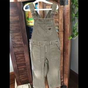 Genuine Oshkosh by Target Army Green Overalls 4T